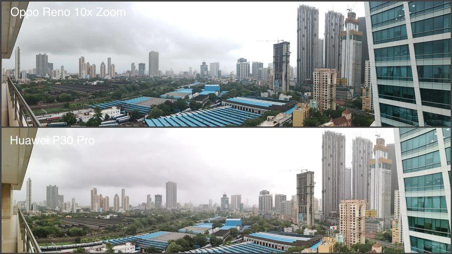 hasil kamera flagship Oppo vs Huawei