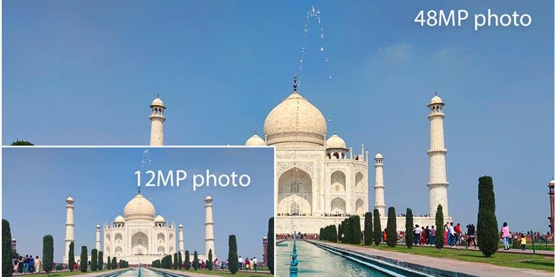 Kamera 48MP vs 12MP Xiaomi Redmi Note 7